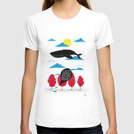 CIAO SIGNORA BALENA T-shirt