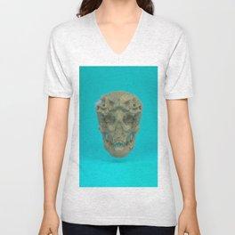 Skull Coral Reef Unisex V-Neck