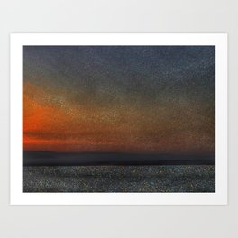 the dead sea Art Print