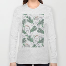 Snow globes and roses Long Sleeve T-shirt