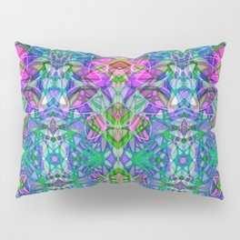 Fractal Art Stained Glass G372 Pillow Sham