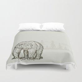 Lodge series - Bear Duvet Cover