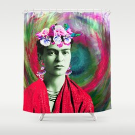 Frida Love's Freeda Shower Curtain