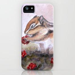 Chipmunk iPhone Case