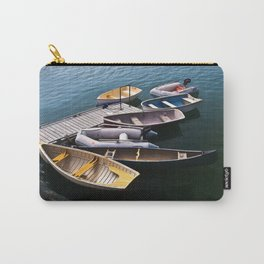 Boats in the Harbor Carry-All Pouch