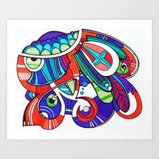 Pla Art Print