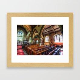 St Peter And St Paul Church Headcorn Kent Framed Art Print