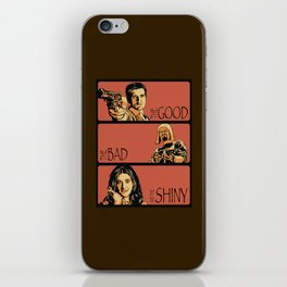 The Good, the Bad, and the Shiny - Firefly iPhone Skin