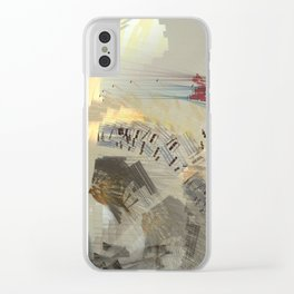 Dreams of Pyramids Clear iPhone Case
