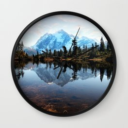 Mt Shuksan Wall Clock
