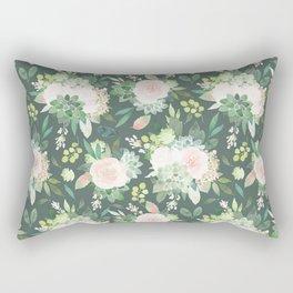 floral, succulent Rectangular Pillow