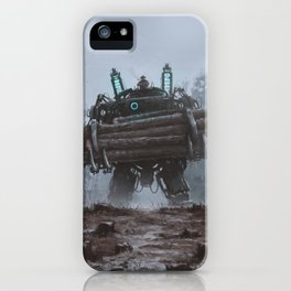 1920 - the destroyer of nature iPhone Case