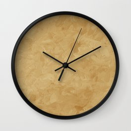Impressions of Spice Caramel Home Decor Wall Clock