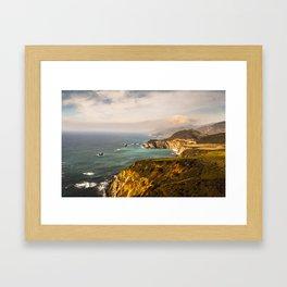 Bixby Bridge Big Sur California Pacific Coast Highway 0578 Framed Art Print