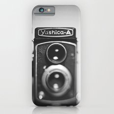 Yashica-A black and white Slim Case iPhone 6s