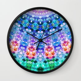 COSMIC KISS Wall Clock