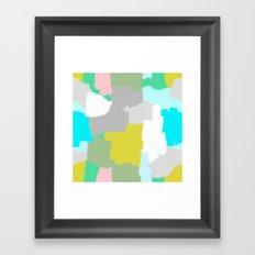 Me and You Mingled Framed Art Print