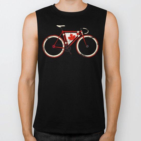 Love Bike, Love Canada Biker Tank