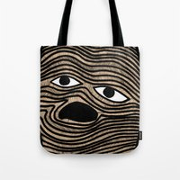 potato Tote Bags featuring Potato by David Ernst