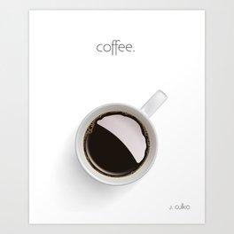 Coffee. Art Print