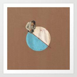 Blue Moon II Art Print