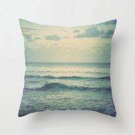 Evening Ocean Throw Pillow