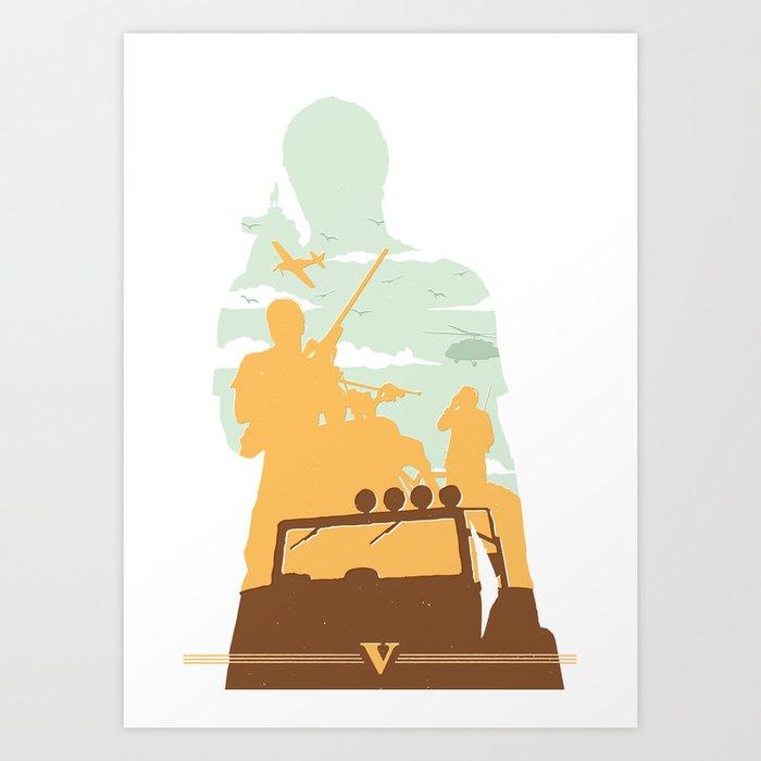 TREV Art Print