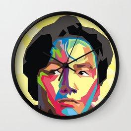 Pop Face Wall Clock