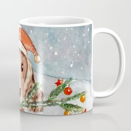 Christmas Puppy Look Coffee Mug