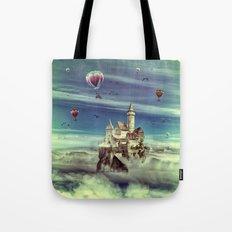 Laputa - Castle in the Sky Tote Bag