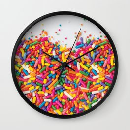 Colorful Candy Wall Clock