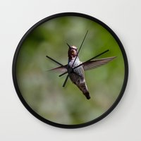 anna Wall Clocks featuring Anna by Mark Alder