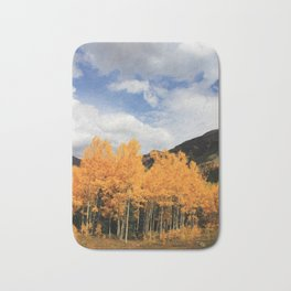 Aspens in Colorado Bath Mat