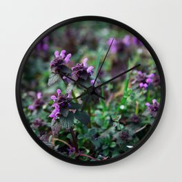 catmint Wall Clock