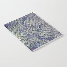 SYMMETRICAL PASTEL PURPLE BRACKEN FERN MANDALA Notebook