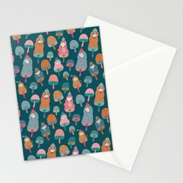 Pattern Project #49 / Mushroom Girls Stationery Cards