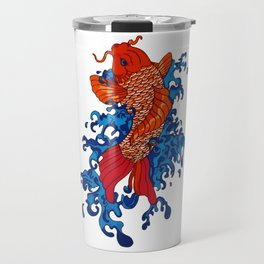 Koi Fish Travel Mug