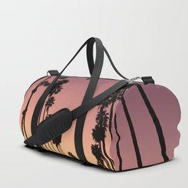 LA sunset sky gradient 055 Duffle Bag