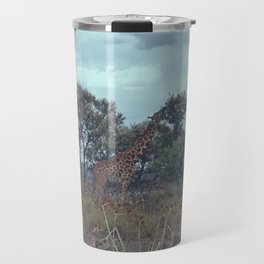 Blue Giraffe Travel Mug