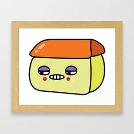 House Flan Framed Art Print
