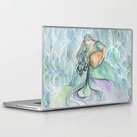 aquarius Laptop & iPad Skins featuring Aquarius by Aline Souza de Souza