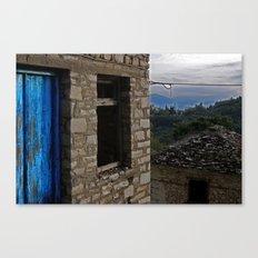 Variations of blue 1 Canvas Print