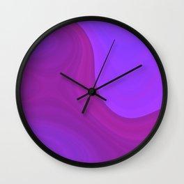 Purple daze 2 Wall Clock