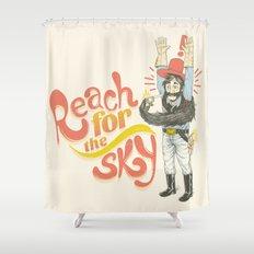 Reach for the Sky Shower Curtain