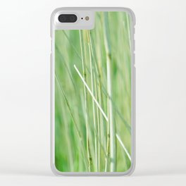 In the Long Grass Clear iPhone Case