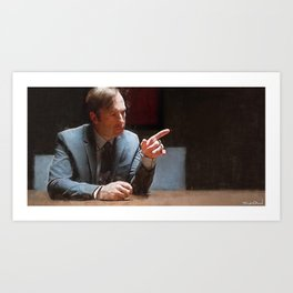 This Injustice Will Not Stand - Better Call Saul Art Print