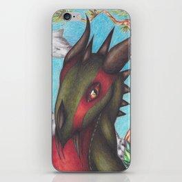 Green Dragon iPhone Skin