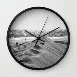 Walking the beach NO1 Wall Clock