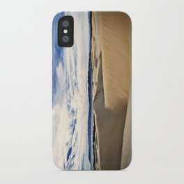 Sand Dunes and Ocean Views iPhone Case