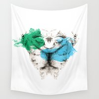 carousel Wall Tapestries featuring Carousel by Rafael Igualada